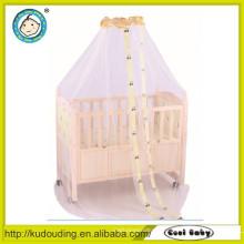Popular bebê quadros de madeira sólida cama