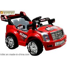 Plastikauto-Spielzeug-Reibungs-Karikatur-Auto