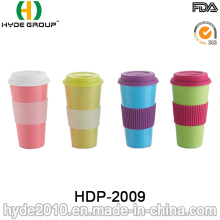 2016 Promotional Colorful Organic Bamboo Fiber Coffee Cup (HDP-2009)