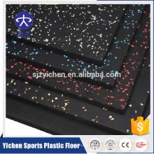Китай завод Оптовая продажа Анти-выскальзования Eco-содружественный Croosfit резиновый настил/резиновый настил спортзала
