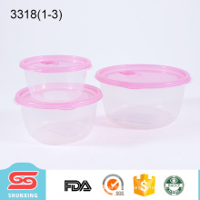 Multipurpose eco-friendly plastic pp food lunch box with lid