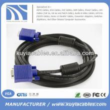 HD15 SVGA Super VGA macho M / M Monitor Cable
