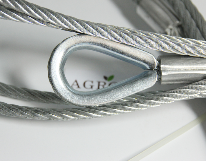 Galvanized Wire Rope Thimble