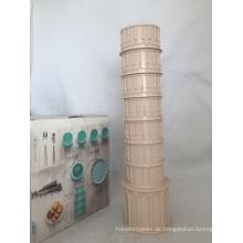 Feenhafter Thema-lehnender Turm von Pisa-Kaffeetasse / ABS Dringking Cup für Andenken oder Geschenk oder Förderung