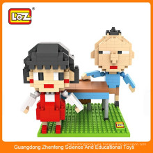 Diy juguetes set mini bloques bloques de construcción de juguetes inteligentes