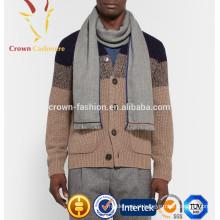 2016 mais recente moda impressa homens cashmere lenço quadrado de algodão