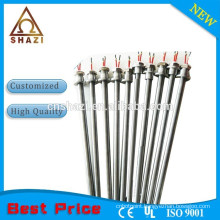 Stainless steel protection tube cartridge heater