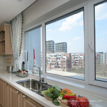 janelas de guilhotina de vidro duplo upvc / guangzhou szh portas e janelas