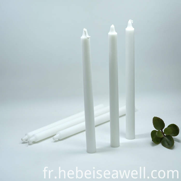 White Stick Candle 7