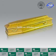 Cercueil lit LUXES vente chaude européenne cercueils colorés R10