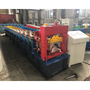 312Color Sheet Roof Ridge Cap Roll Forming Machine