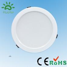Nouveau trou blanc 150mm 6inch 100-240v smd5730 15w lumières led plafond suspendu encastré