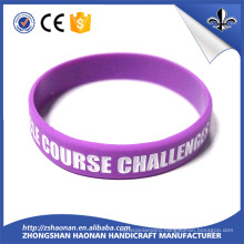 Factory Fashion Gift Item Customized Logo Silicon Bracelet
