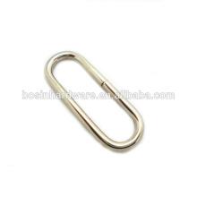 Art- und Weisequalitäts-Metallbeutel-Zusätze Ovaler Ring