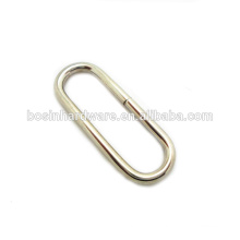 Fashion High Quality Metal Bag Accessories Oval Ring