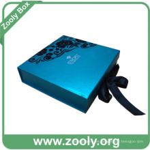 Recuerdo decorativo plegable caja de regalo / China fabricante de cajas de plegado