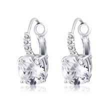 New Cheap Brass Micro Inlay Zircon Women Earrings (CER0207-B)