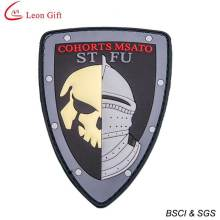 Cheap Custom 3D PVC Badge with Velcro Backing (LM1642)