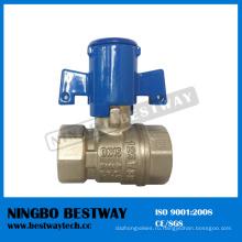 Пластиковый Запираемый счетчик воды клапан с высоким качеством (БВ-L29)