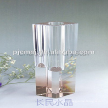 cheap pure crystal vase products for home and company gifts usage