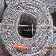 Arame farpado galvanizado em 1.6mm a 2.7mm para a cerca de segurança