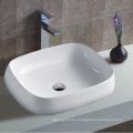Nuevo diseño del borde delgado baño de cerámica lavabo WC