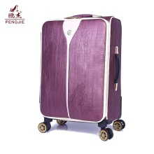 new fashionable printed 24 inch vintage style luggage
