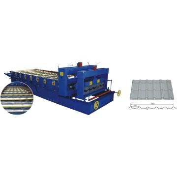 machine en aluminium de tuiles de pas, chaîne de production de tuile de plafond