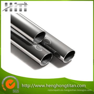 Laminado en caliente ASTM B337 ASTM B338 Tubería / tubo de titanio soldado o sin soldadura Técnica y aplicación de la industria