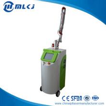 Salon Hautverjüngung CO2 Fractional Laser Maschine Permanent schmerzlos Tattoo Entfernung