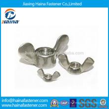 Fabriqué en Chine en acier inoxydable 316 Wing Nuts En Stock