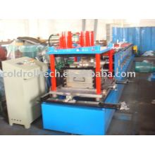 Steel C purlin roll bending machine for steel structure use