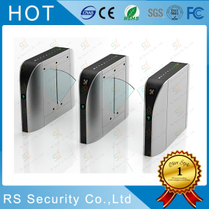 Retractable Turnstiles Stainless Steel Flap Barrier Gates