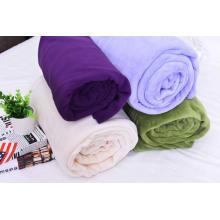Solid Color Polar Fleece Spring Summer Blankets