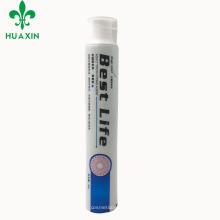 Alta calidad suave vacío personalizado 75 g serigrafía cosméticos que blanquean el tubo de pasta de dientes para la venta
