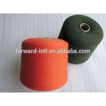 venta caliente 100 hilos de poliéster para calcetines que hacen punto