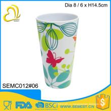 низкая цена популярные меламин круглый пользовательские чашки