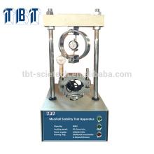Máquina de compressão Marshal Asfalto de laboratório