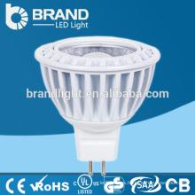 Bulbo del proyector de la alta calidad MR16 / Gu10 5W COB LED, CE Aprobación de RoHS