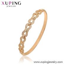 52173 Xuping Bijoux Chine En Gros plaqué or luxe style bracelet de mode pour les femmes