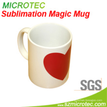 Promotional Heat Press of Partial Color Changing Mug