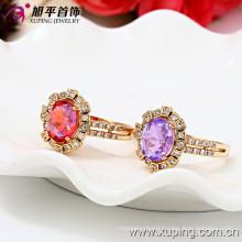 13127-Xuping Professional Design Elegant Shining Jewelry Crystal Engagement Ring