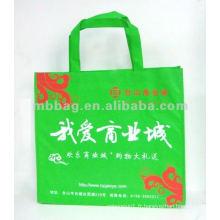 2013 sacs de cadeau de tissu de bannière verte pas cher