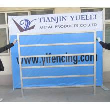 Industria Panel de valla de metal soldado / panel de valla de malla de alambre / panel de valla temporal / paneles de valla de tubo de acero