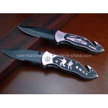 """8.3 """"faca de mergulho em alumínio Handle (SE-109)"""