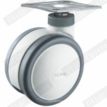 Roulette de roue pivotante à roulette médicale (G5302)