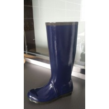 Special New Rubber Rain Boots With Cloth Between Rubber And Lining
