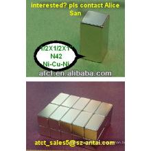 Benutzerdefinierte Neodymmagneten großen Block Bulk-magnet