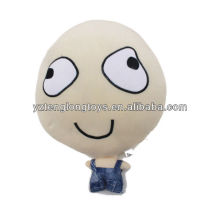 China factory big head plush doll toy stuffed doll soft with different expression