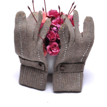 2015 Promotion Fashion Style Wool Touch Screen Gloves for iPhone, iPad (SNTG02-2)